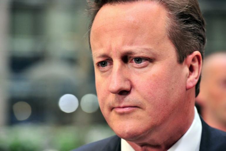 Le Premier ministre britannique, David Cameron, le 27 mai 2014 à Bruxelles (Archives).