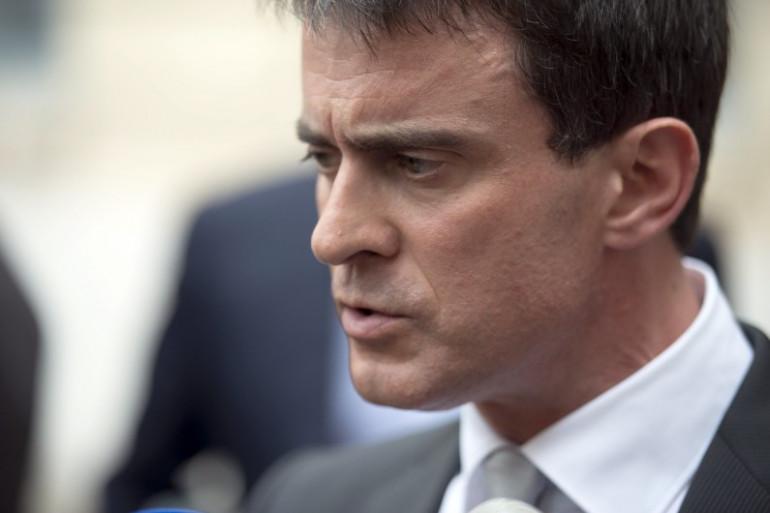Manuel Valls à Paris, le 14 juin 2014