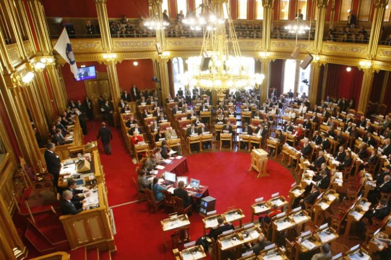 Le Parlement de Norvège à Oslo, en octobre 2007 (illustration).