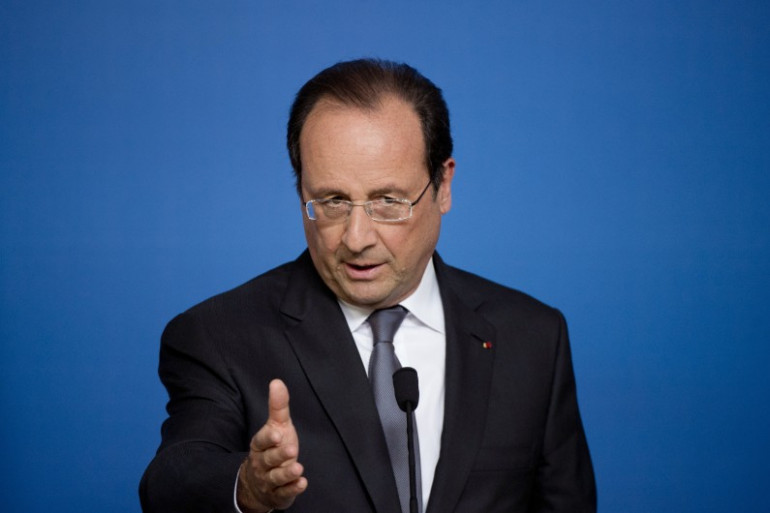 Le président de la République, François Hollande, le 27 juin 2014 à Bruxelles.
