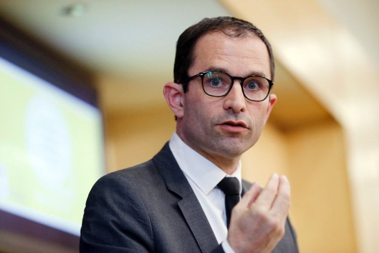 Le ministre de l'Éducation nationale et de l'Enseignement supérieur, Benoît Hamon, le 24 juin 2014 (Archives)