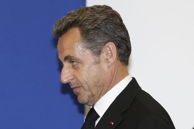 Nicolas Sarkozy à Nice, le 10 mars 2014 (Archives)