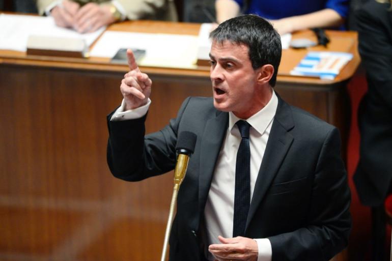 Le Premier ministre, Manuel Valls, ce mardi 15 juillet à l'Assemblée nationale.