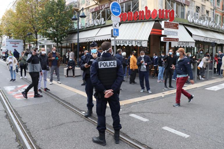 Le centre-ville de Nice a été le théâtre d'une attaque au couteau jeudi 29 octobre 2020