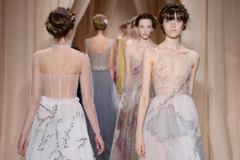 Défilé haute couture Valentino - Printemps/été 2015