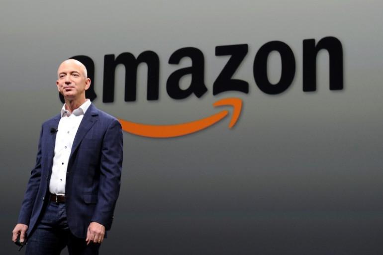 Jeff Bezos, le fondateur d'Amazon