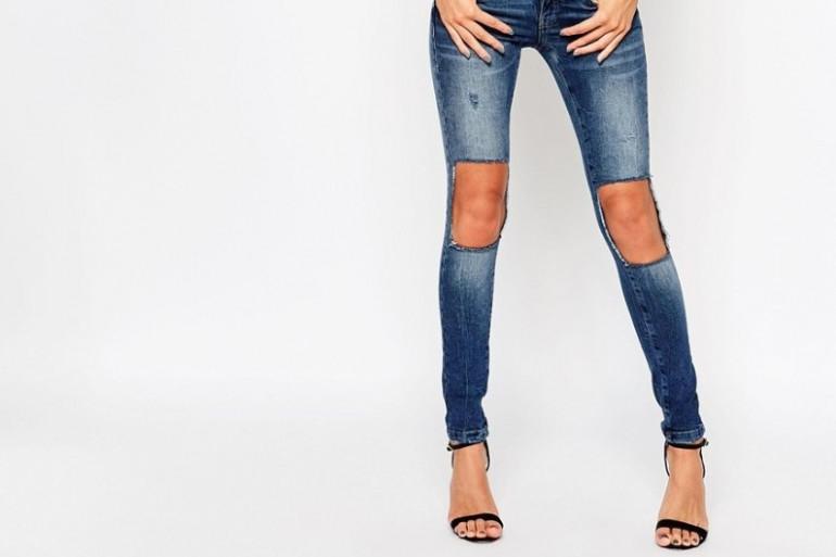 """Un grand """"non"""" au retour du jean troué aux genoux"""