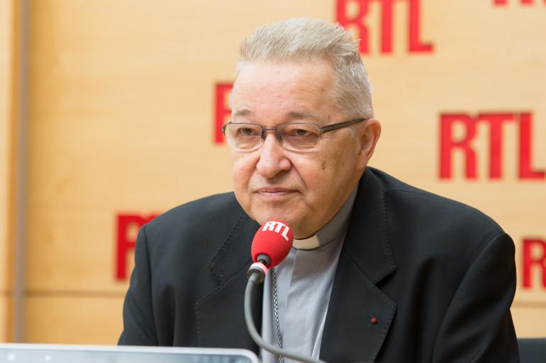 Cardinal André Vingt-Trois, Invité de RTL, le 2 octobre 2015