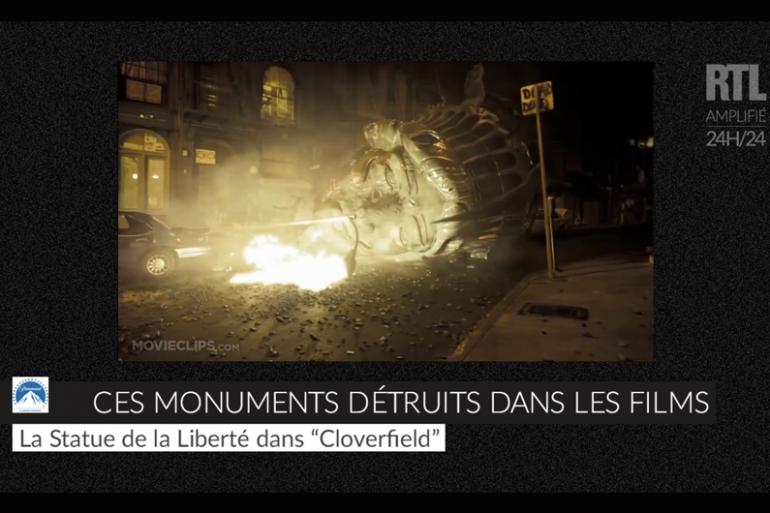 Les monuments détruits dans les films