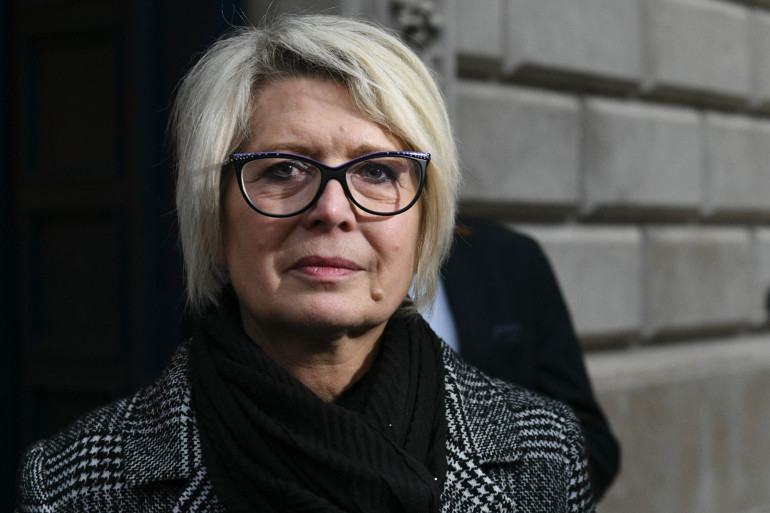 Isabelle Fouillot, la mère d'Alexia Daval, le 7 décembre 2018