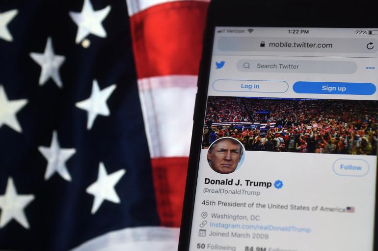 Donald Trump compte près de 90 millions d'abonnés sur Twitter