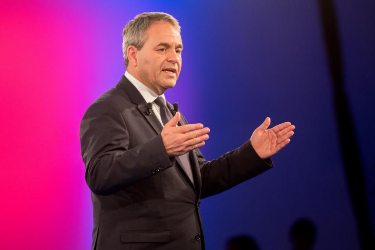 Xavier Bertrand a remporté la région Nord-Pas-de-Calais-Picardie avec 58% des voix selon les premières estimations.