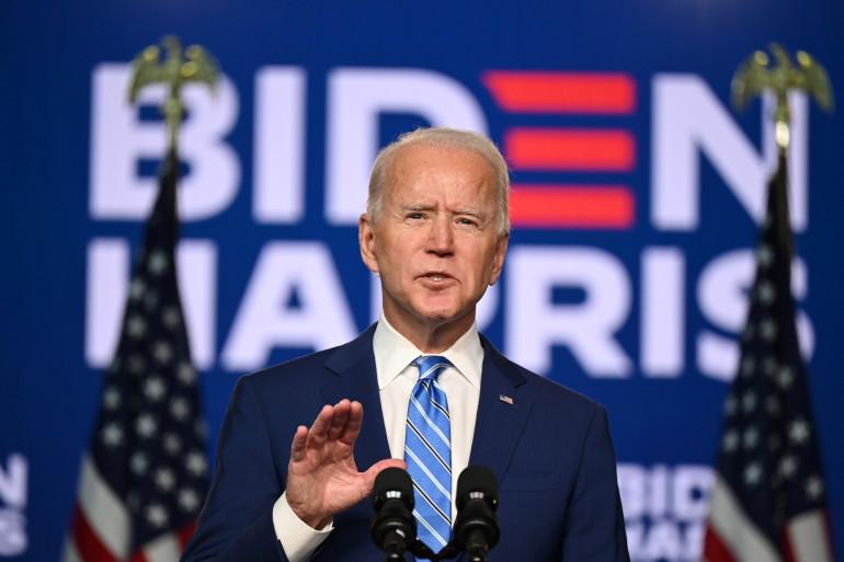 Joe Biden à Wilmington, aux États-Unis, le 4 novembre 2020