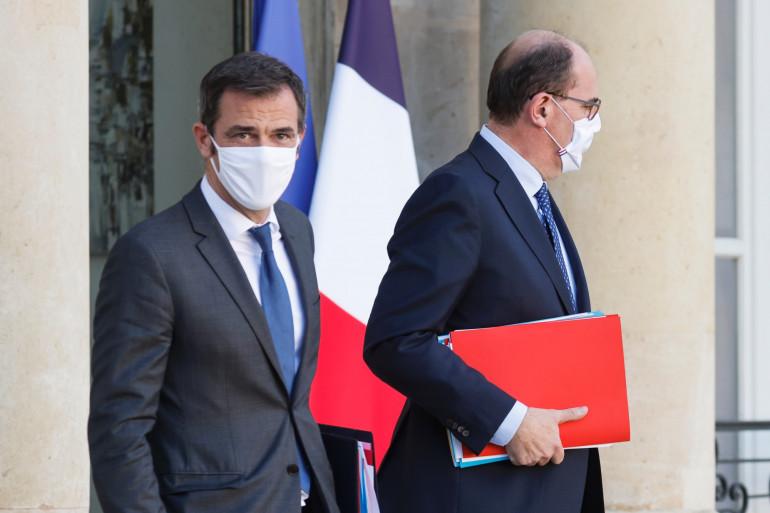 Olivier Véran et Jean Castex, le 4 novembre 2020