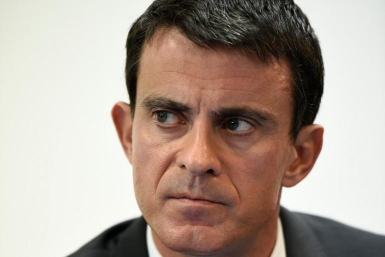Manuel Valls a condamné les violences qui ont accompagné la manifestations des taxis contre les VTC mardi 26 janvier.