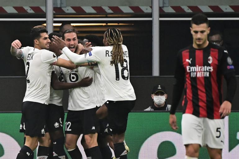 Le Losc s'est imposé 3 buts à 0 face à l'AC Milan, le 5 novembre 2020