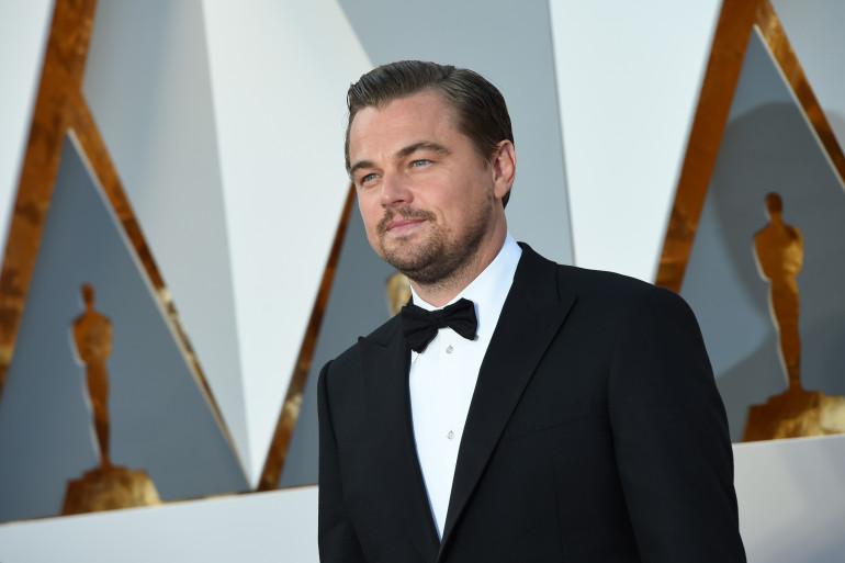 Leonardo DiCaprio aux Oscars 2016