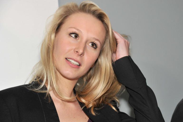 Marion Maréchal-Le Pen à Rome le 15 mars 2016.
