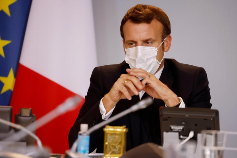 Emmanuel Macron, le 6 novembre 2020