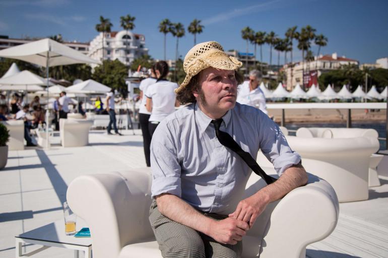 Philippe Katerine au 68e festival de Cannes le 17 mai 2015.