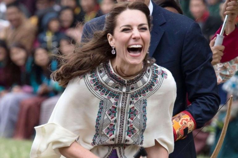 Kate Middleton en visite au Bhoutan