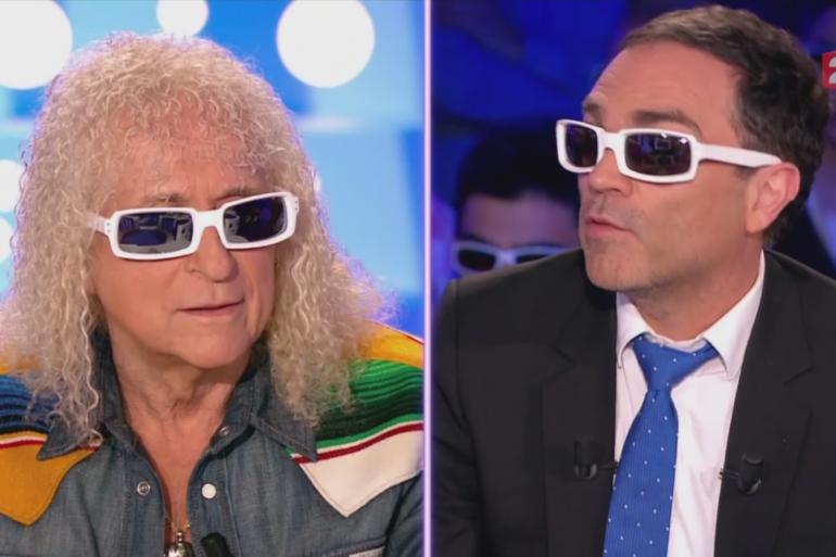 Michel Polnareff et Yann Moix à On est pas couché le samedi 30 avril?