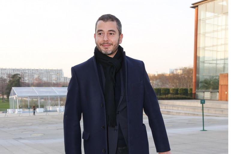 Le journaliste Ali Baddou le 21 janvier 2016 à Paris.