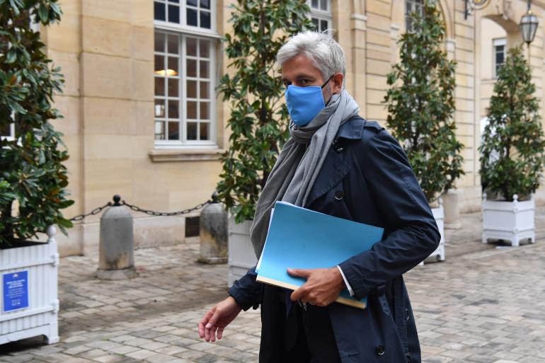 Laurent Wauquiez, le 28 septembre 2020