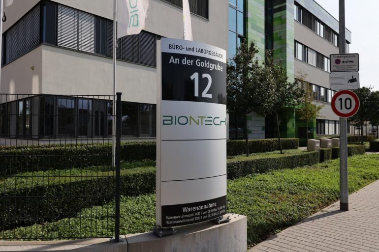 La société de biotechnologie allemande BioNTech