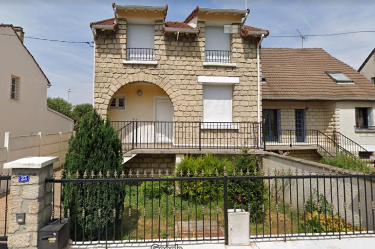 La maison squattée, située à Bondy