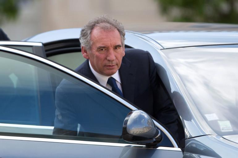 François Bayrou au palais de l'Élysée (Paris) le 25 juin 2016.