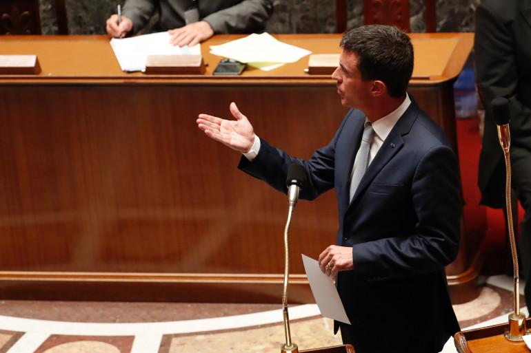 Manuel Valls à l'Assemblée nationale, le 19 juillet 2016