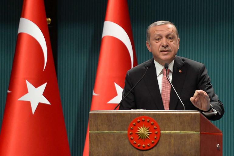 Le président turc Recep Tayyip Erdogan à Ankara le 20 juillet 2016.