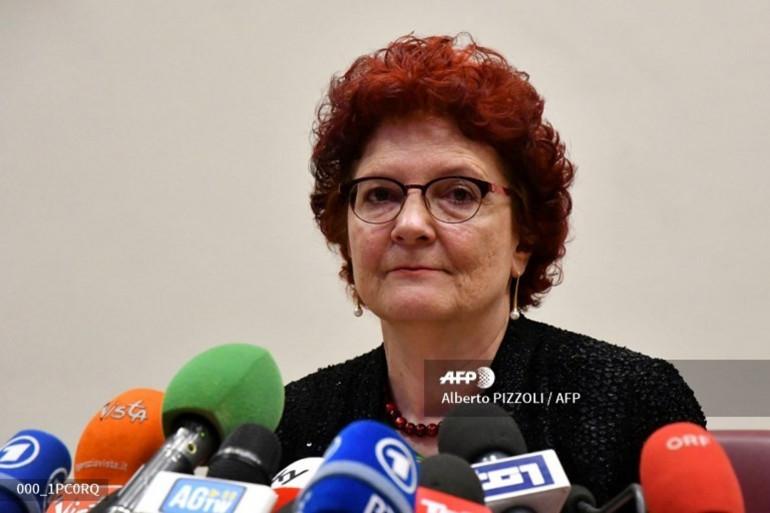 """Andrea Ammon, directrice de l'agence européenne en charge des épidémies, envisage les premières vaccinations dans l'Union Européenne """"au premier trimestre 2021""""."""