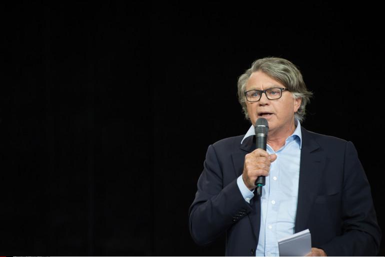 Gilbert Collard aux Estivales de Fréjus le 18 septembre 2016.