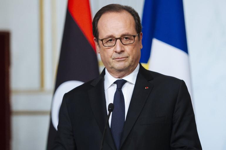 François Hollande à l'Élysée le 27 septembre 2016.