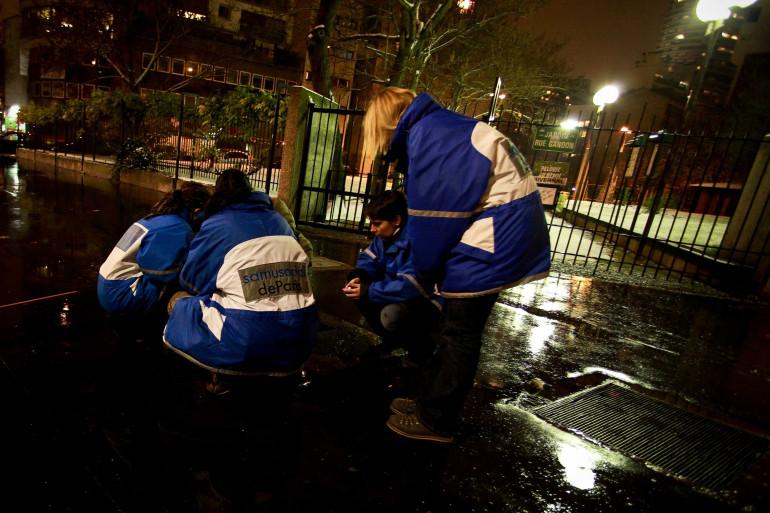 En periode de grand froid, le Samu Social multiplie les maraudes dans les rues de Paris. (illustration)