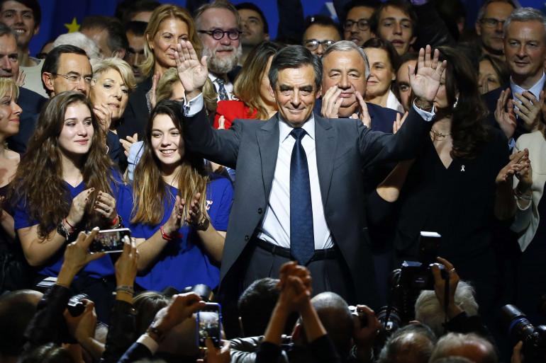 François Fillon le 25 novembre 2016 à Paris.