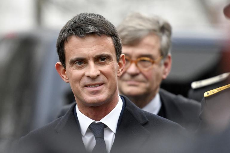 Manuel Valls lors d'un déplacement à Nancy le 2 décembre.