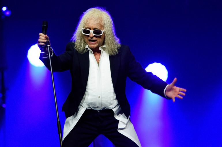 Michel Polnareff à l'Accor Hotel Arena lors de sa tournée