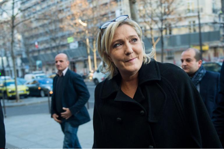 Marine Le Pen le 9 décembre 2016 à Paris.
