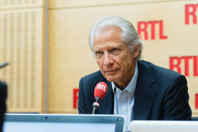 Dominique de Villepin était l'invité de RTL le 12 décembre 2016