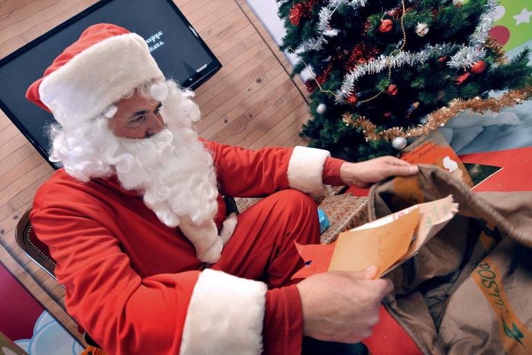 Un père Noël à Libourne en décembre 2010 (photo d'illustration).
