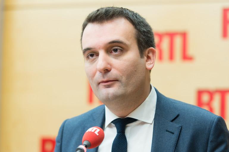 Florian Philippot était l'invité de RTL le 23 décembre 2016
