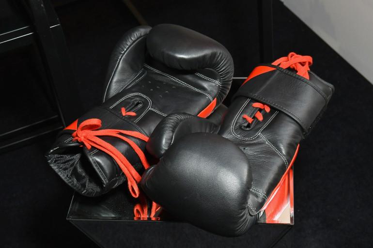 Des gants de boxe (illustration)