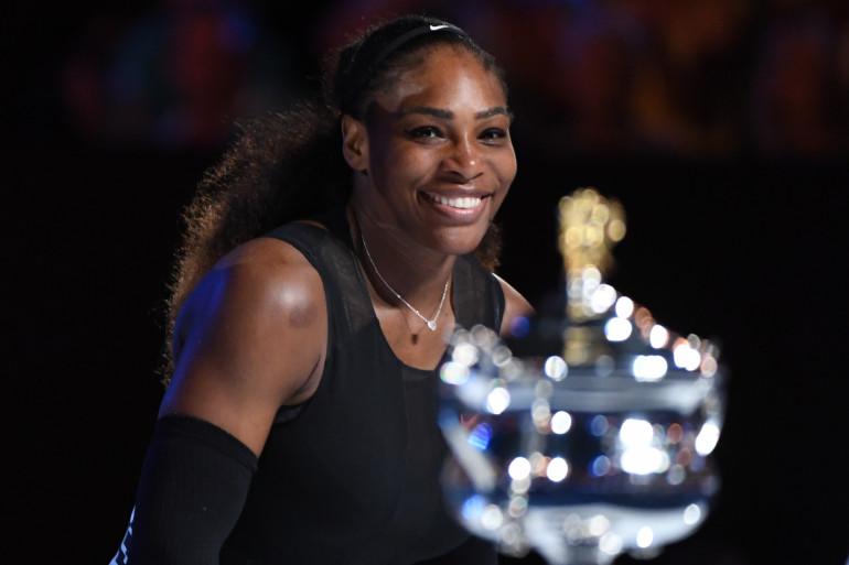 Serena Williams a remporté l'Open d'Australie le 28 janvier à Melbourne