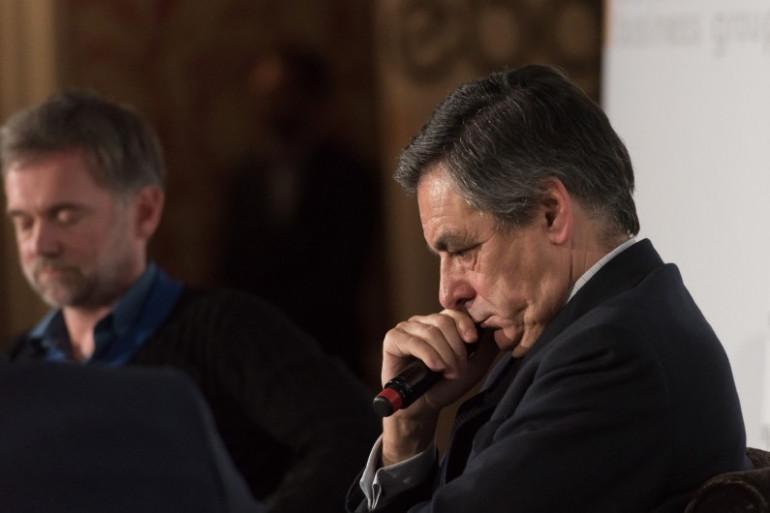 François Fillon le 31 janvier 2017 à Paris
