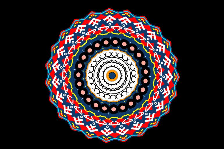 """Le mandala signifie """"le cercle magique"""" en sanskrit."""