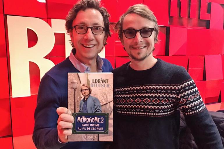Lorant Deutsch et Stéphane Bern