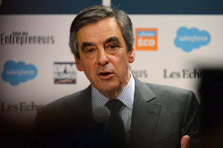 François Fillon, le 1er février 2017